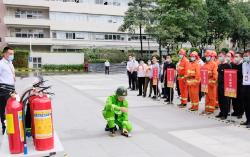 力合物业 | 组织消防应急疏散演练,提高消防安全防范意识